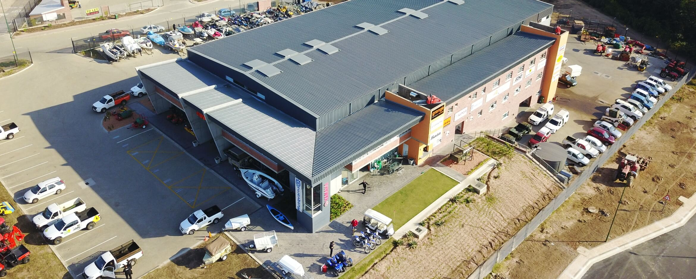 Rudamans Nelspruit Head Office Drone Shot